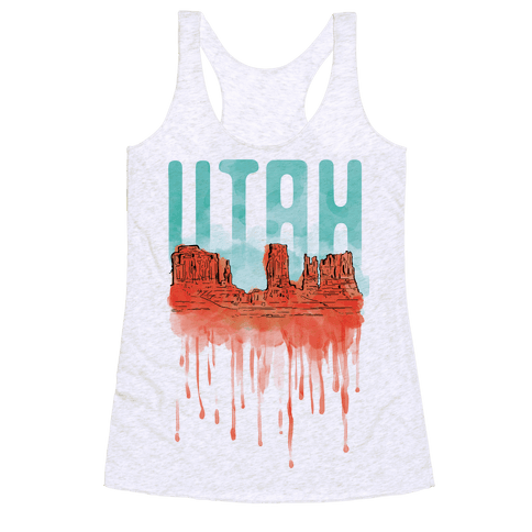 Monument Valley, Utah Racerback Tank Top