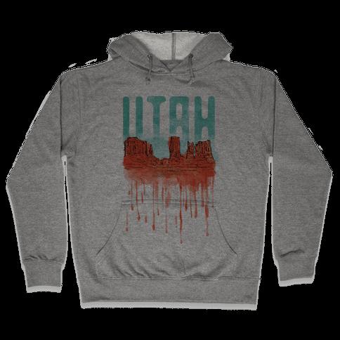 Monument Valley, Utah Hooded Sweatshirt