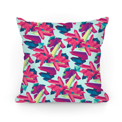 Crystal Pattern Pillow Pillow