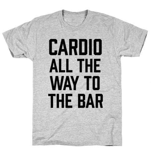 Cardio All The Way To The Bar