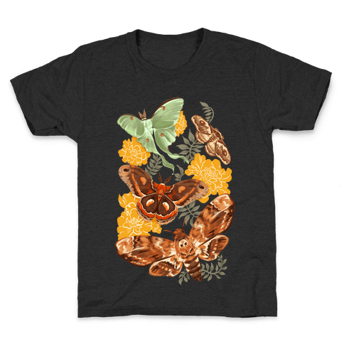 Moths & Marigolds Kids T-Shirt