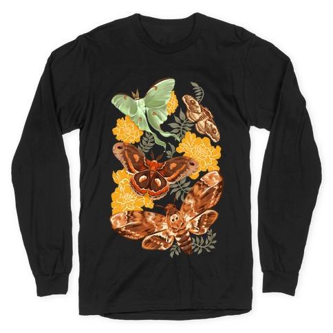 Moths & Marigolds Long Sleeve T-Shirt