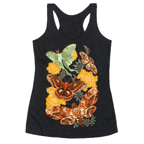 Moths & Marigolds Racerback Tank Top