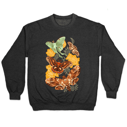 Moths & Marigolds Pullover