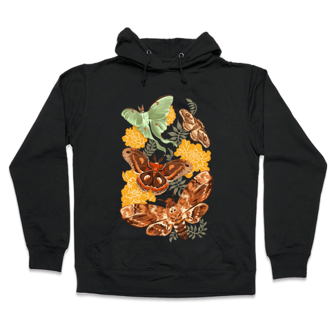 Moths & Marigolds Hooded Sweatshirt