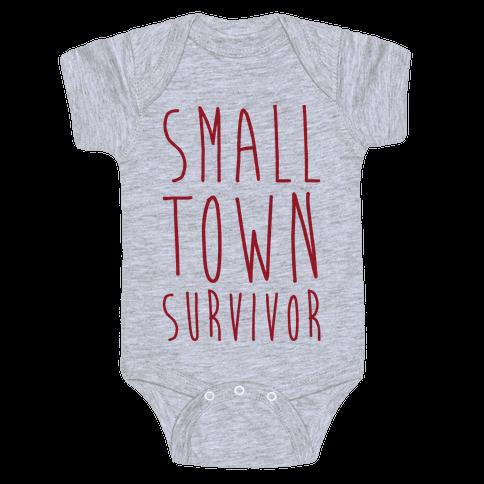 Small Town Survivor Baby Onesy