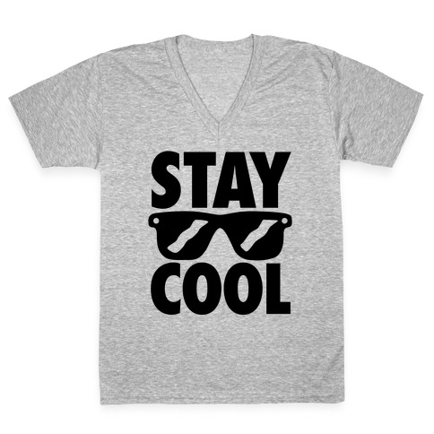Stay Cool V-Neck Tee Shirt