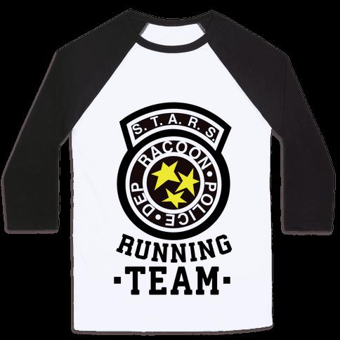 S.t.a.r.s Running team Baseball Tee