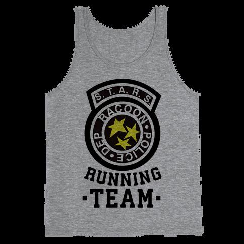 S.t.a.r.s Running team Tank Top