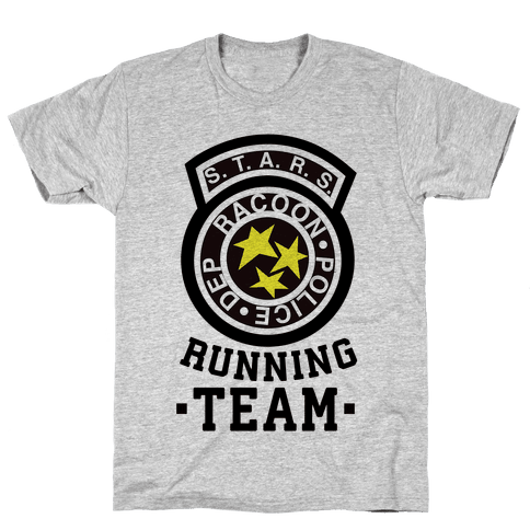 S.t.a.r.s Running team Mens T-Shirt