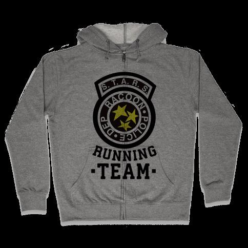 S.t.a.r.s Running team Zip Hoodie