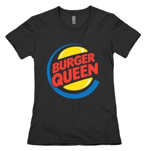 Burger Queen Womens T-Shirt