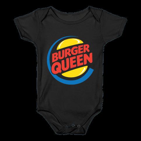 Burger Queen Baby Onesy