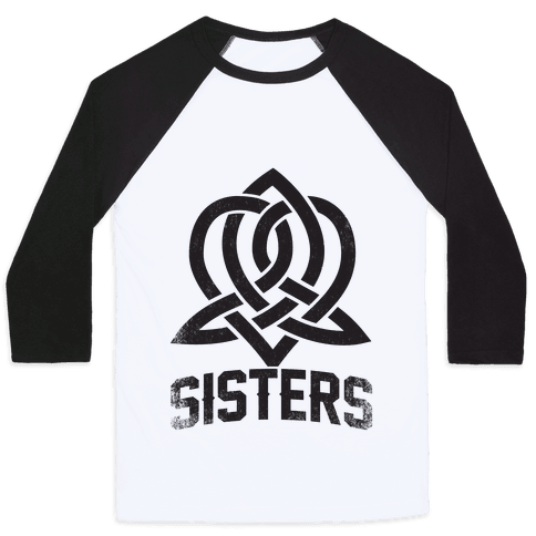 Sisters (Celtic Design) Baseball Tee
