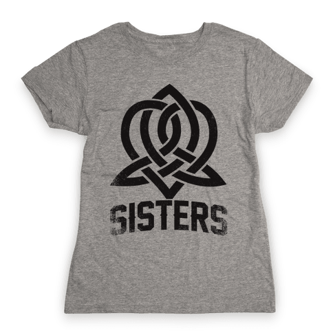 Sisters (Celtic Design) Womens T-Shirt