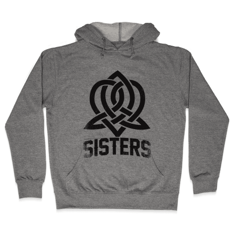 Sisters (Celtic Design) Hooded Sweatshirt