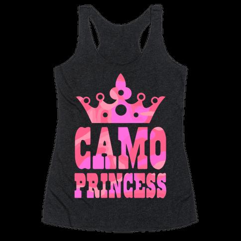 Camo Princess Racerback Tank Top