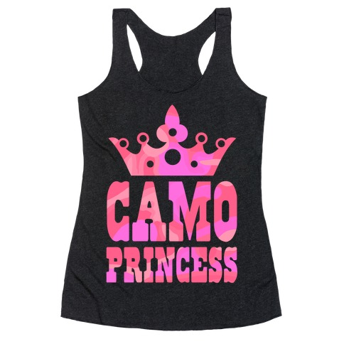 Camo Princess Racerback Tank Top