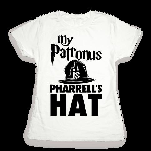 My Patronus is Pharrell's Hat Womens T-Shirt