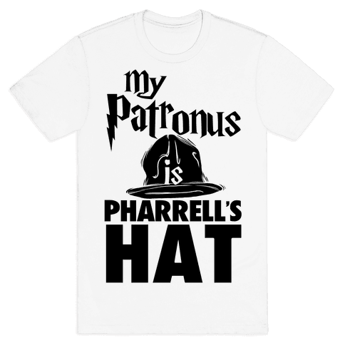 My Patronus is Pharrell's Hat Mens T-Shirt