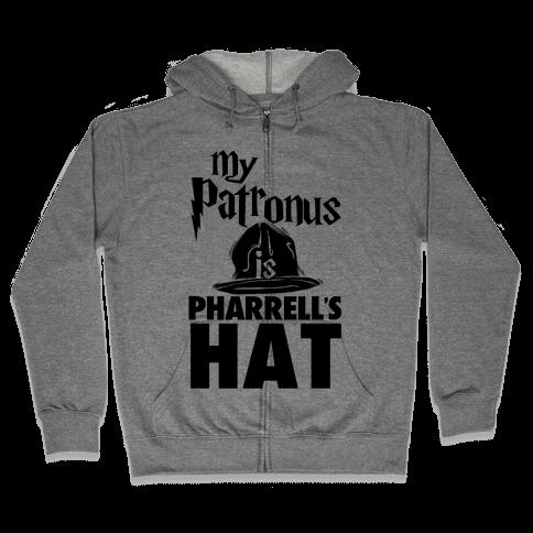 My Patronus is Pharrell's Hat Zip Hoodie