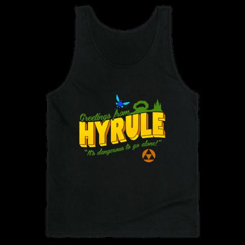 Greetings From Hyrule Tank Top