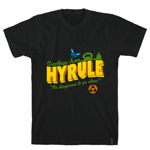 Greetings From Hyrule Mens T-Shirt