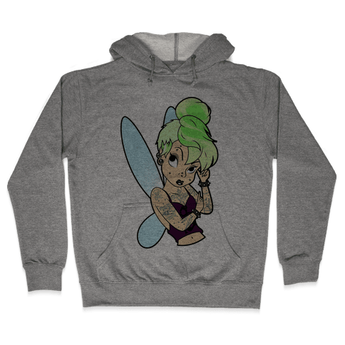 Punk Tinkerbell Hooded Sweatshirt