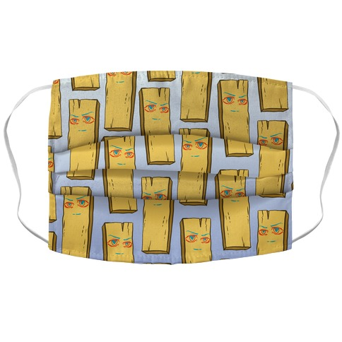 Planke-kun Anime Plank Accordion Face Mask