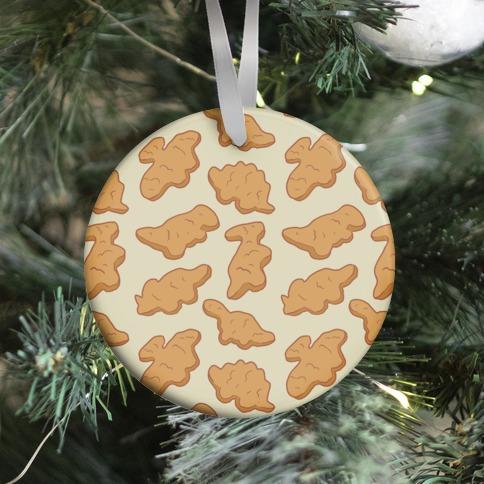 Dino Nuggies Pattern Ornament