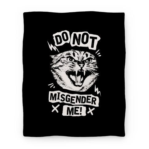 Do Not Misgender Me Blanket