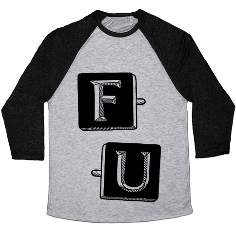 Frank Underwood Cufflinks Baseball Tee