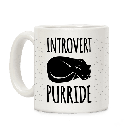 Introvert Purride Coffee Mug