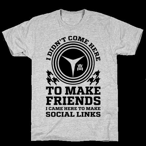 I Came Here To Make Social Links