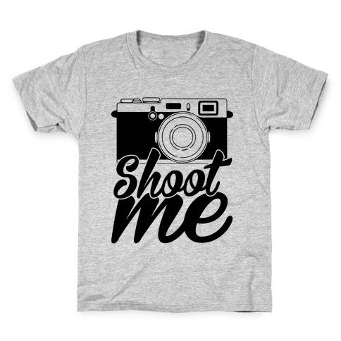 Shoot Me Kids T-Shirt