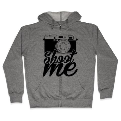 Shoot Me Zip Hoodie