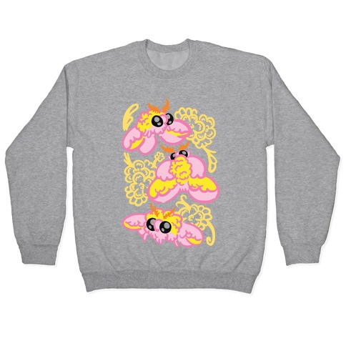 Rosy Maple Moths Pullover