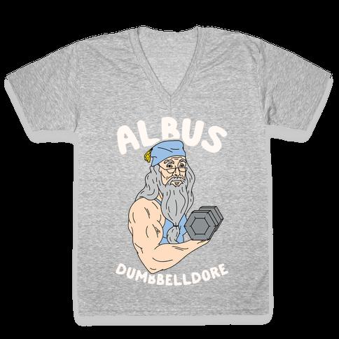 Albus Dumbbelldore V-Neck Tee Shirt