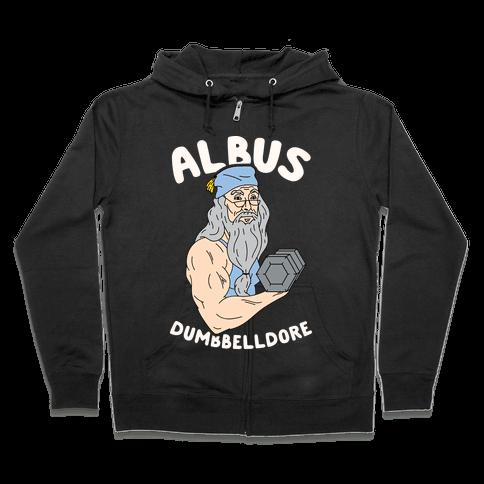 Albus Dumbbelldore Zip Hoodie