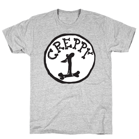 Creppy 1 Mens T-Shirt
