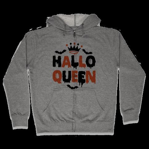 Hallo Queen Zip Hoodie