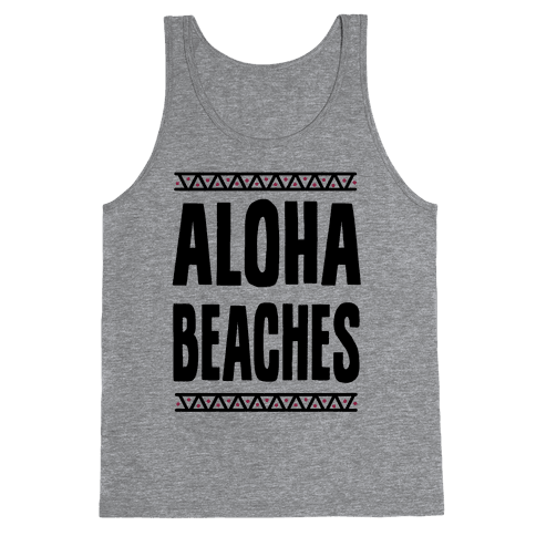 Aloha Beaches Tank Top