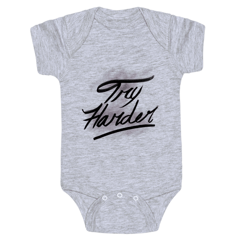 Motivate: Try Harder Baby Onesy