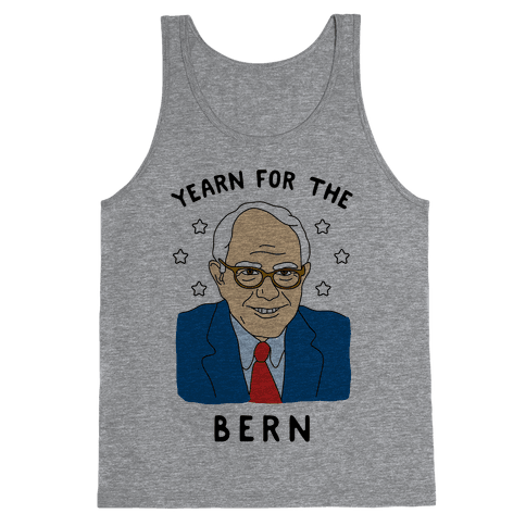 Yearn For The Bern Tank Top