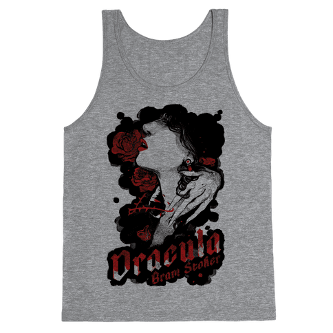 Dracula Book Cover Tank Top