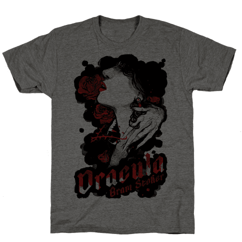 Dracula Book Cover Mens T-Shirt