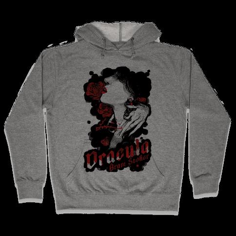 Dracula Book Cover Hooded Sweatshirt
