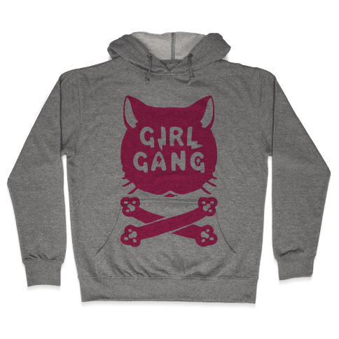 Girl Gang Hooded Sweatshirt