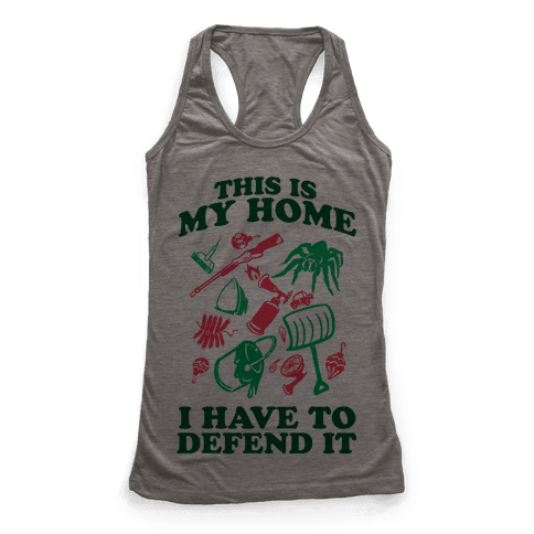 This is My Home Racerback Tank Top