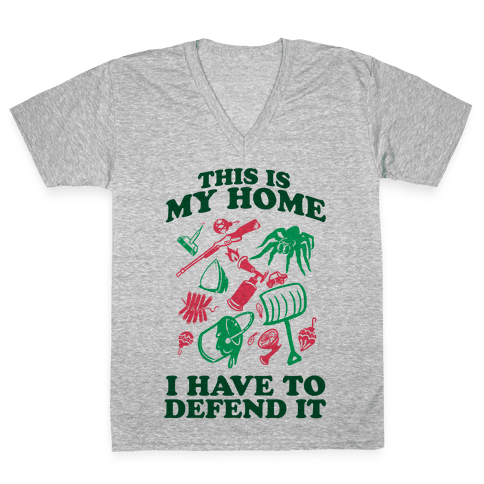 This is My Home V-Neck Tee Shirt